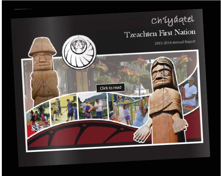 Tzeachten First Nation Chilliwack Annual report