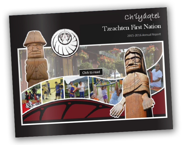 Tzeachten First Nation Chilliwack Annual report